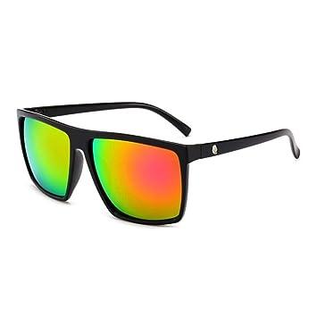 ZHOUYF Gafas de Sol Gafas De Sol Cuadradas Espejo De ...