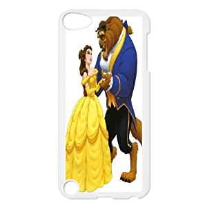 JenneySt Phone CaseFashion Colorful Beauty and The Beast Design FOR Ipod Touch 5 -CASE-6