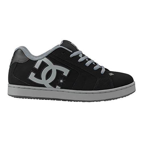 DC Net SureGrip Herren Schwarz / Grau Sneakers Schwarzgrau