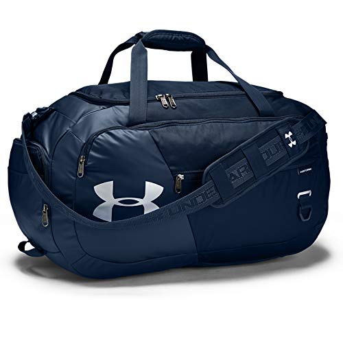 Under Armour Undeniable Duffle 4.0, Academy/Silver, X-Small