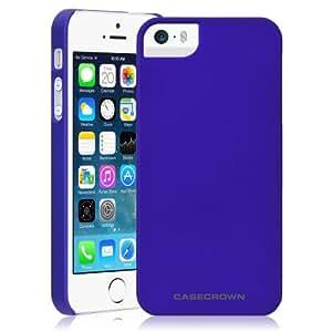 iPhone 5 \ 5s Case, CaseCrown Lux Snap On Case (Blue Sapphire)
