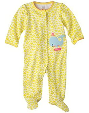 Just One You Made By Carter's Baby Girls' Infant Sleep and Play Whaley Cute