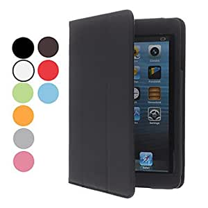 Buy Simple Design PU Leather Case with Stand for iPad mini (Assorted Colors) , Gray