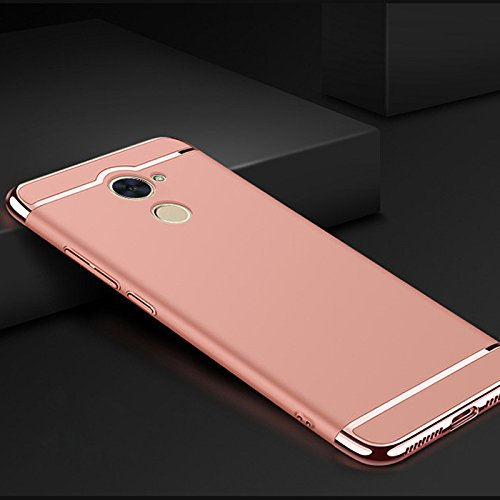 quite nice 7ada6 b1e52 Amazon.com: Huawei Y7 Prime Case, Luxury Removable 3 in 1 Hard ...
