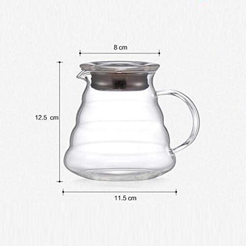 HLJ Waterkoker Cloud pot Hand koffiezetapparaat Drip glazen pot (Size : 600ml)