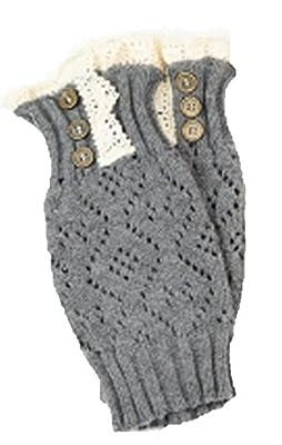 Marilyn & Main Women's Crochet Lace Boot Cuffs