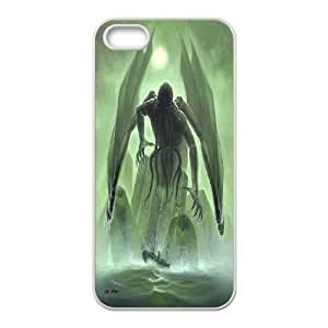 Jumphigh Cthulhu's Right IPhone 5,5S Case, [White]