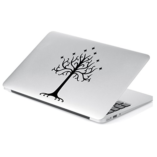 (Yoonek Graphics Tree of Gondor Decal Sticker from Lord of The Rings for Car Window, Laptop, Motorcycle, Walls, Mirror and More. # 545 (6