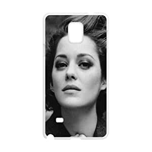 Celebrities Marion Cotillard Samsung Galaxy Note 4 Cell Phone Case White phone component AU_625520