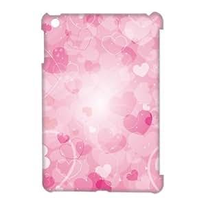 3D Case Of Love Pink 3D Bumper Plastic Customized Case For iPad Mini
