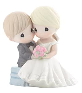 """Precious Moments, Wedding Gifts, """"To Have And To Hold Forevermore"""", Bisque Porcelain Figurine, #830023"""
