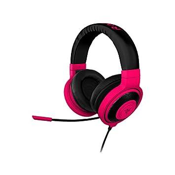 Razer Kraken Pro Neon - Auriculares Gaming con micrófono, rojo
