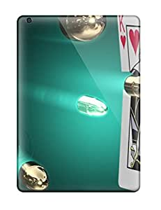 First-class Cases Covers For Ipad Air Dual Protection Covers Poker Cards