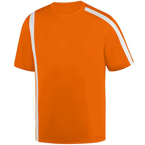 Wholesale Kids Soccer Jersey (Augusta Sportswear Men's Attacking Third Jersey L Power Orange/White)
