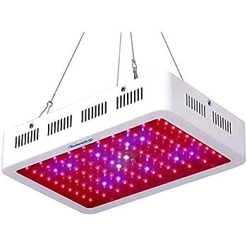 Amazon com : GROWSTAR 600W LED Grow Light Optical Lens, 12
