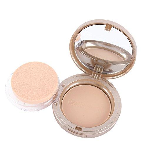 Silvercell Nude Farbe Gesichtspuder Matte Poreless Pressed Powder Blush Palette