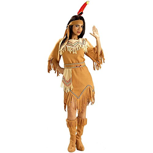 Maiden Indian Costume (Native American Maiden Adult Costume - Standard)