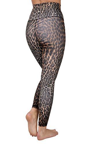 Yogalicious High Waist Squat Proof Soft Printed Leggings for Women