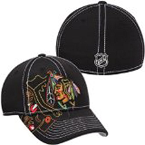 Reebok Chicago Blackhawks Center Ice Draft Cap S/M ()