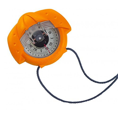 Plastimo Iris 50 Handheld Hand Bearing Compass - Orange by Plastimo