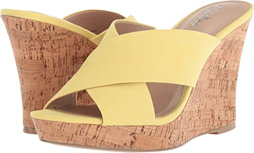 Charles by Charles David Women's Latrice Buttercup Microsuede 8 M US