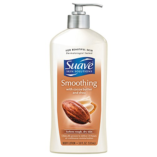 Suave Body Lotion, Coco Butter & Shea, 18 oz