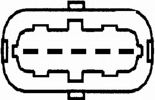 HELLA 8ET 009 142-991 Luftmassenmesser geschraubt