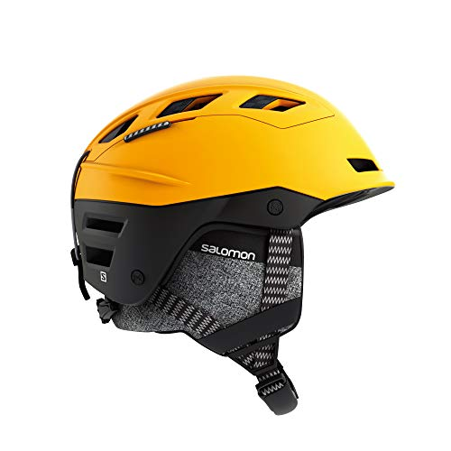 (Salomon QST Charge Helmet, Large/59-62cm, Saffron Black)