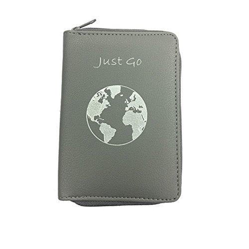 53032c5082c3 Passport Holder w/Zipper-Multiple Colors- RFID Blocking Travel ...