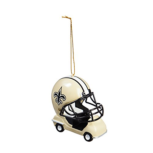 Team Sports America New Orleans Saints Vintage Field Cart Team Ornament - New Orleans Saints Christmas Ornaments