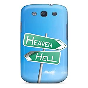 Heaven Hell Backgrounds Flip Case With Fashion Design For Case Samsung Galaxy Note 2 N7100 Cover