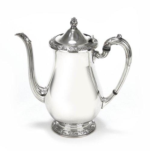 - Queen Bess II by Tudor Plate, Silverplate Coffee Pot