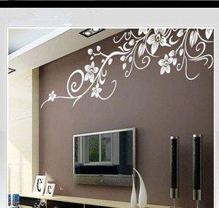 amzdeal® wandtattoos wandbilder wandsticker aufkleber für ... - Wandtattoo Wei Schlafzimmer