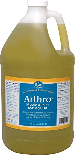 Baar Products Arthro Muscle and Joint Massage Oil, Gallon