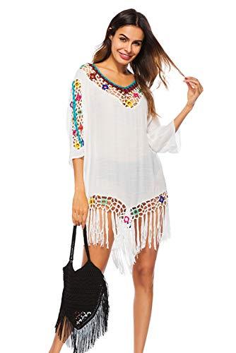 Hippie Chic Bohemia Sarong Mujer playa T de Verano Vestido Pareo 80Cggq