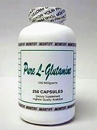 Montiff - Pure L-Glutamine 500 mg- 250 caps