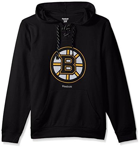 NHL Boston Bruins Adult Men Team Crest Performance Fleece Hockey (Carolina Hurricanes Hoodie)