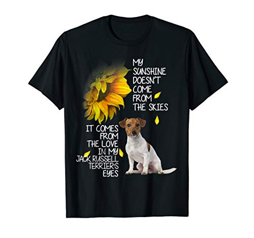 My Sunshine Love Jack Russell Terrier Eyes T-Shirt Dog Gift