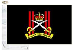 Ejército británico Royal cuerpo de ejército entrenamiento físico cortesía barco bandera–5'x3' (150cm x 90cm)–Cuerda y Toggle