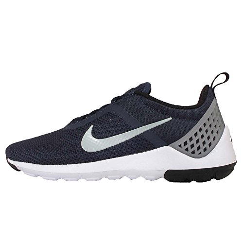 Nike Mens Lunarestoa 2 Scarpe Da Corsa Essenziali Mid Navy / Lupo Grigio-bianco-nero