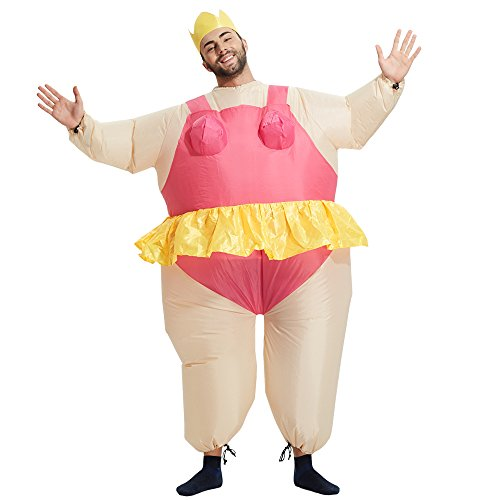 TOLOCO Inflatable Costume   Inflatable Costumes For Adults Or Child   Halloween Costume   Blow Up Costume (Ballet-Adult) by TOLOCO (Image #1)