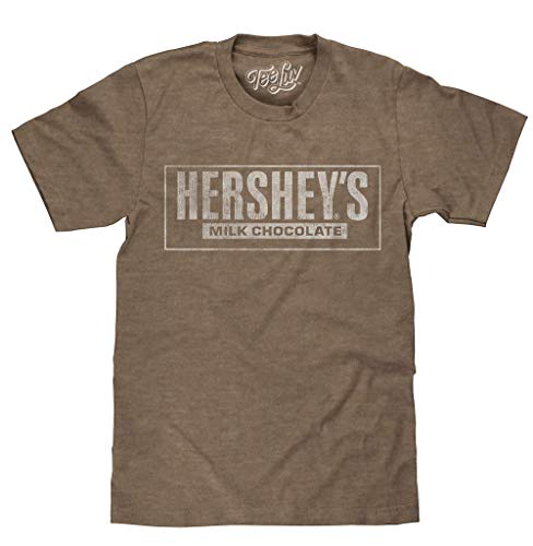 Hershey's Milk Chocolate Licensed T-Shirt | Poly Cotton Blend | Classic Look