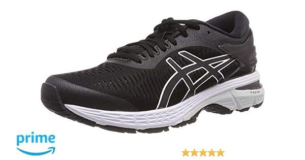 ASICS Australia Gel Kayano 25 Women's Running Shoe, BlackGlacier Grey