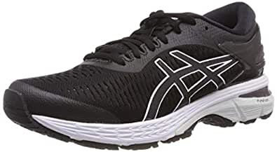 ASICS Australia Gel-Kayano 25 Women's Running Shoe, Black/Glacier Grey, 5 US