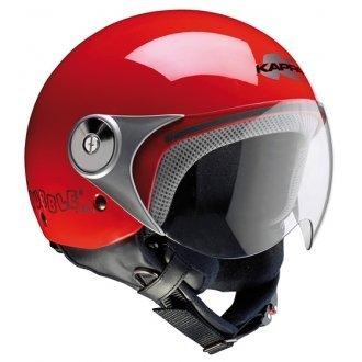 Casco Jet niño Junior GIVI Color Rojo ...