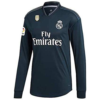 162176b6f GOLDEN FASHION Non Real Madrid Away KIT 2018-19 Full Sleeve Jersey with  Short and