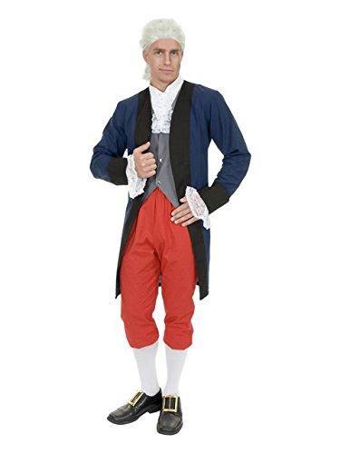 [Men's Ben Franklin / Colonial Man Costume] (Ben Franklin Adult Mens Costumes)