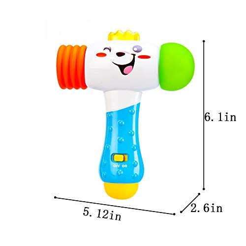 Amazon.com: Electric educativo Toy Baby bebé Knock Giggle ...