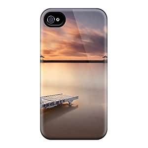 High Quality TianMao Karang Beach Skin Case Cover Specially Designed For Iphone - 4/4s