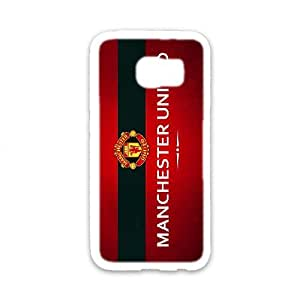 DIY phone case Manchester United skin cover For Samsung Galaxy S6 SQ823005
